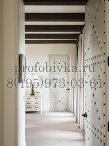 дизайнерская обивка межкомнатных дверей