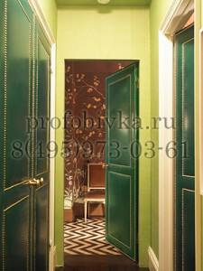 декоративная обшивка межкомнатных дверей