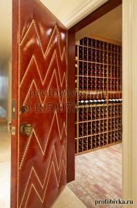 дизайнерская отделка двери