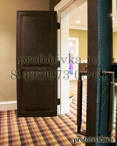декорирование дверей молдингом