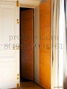 элитная отделка дверей с шумоизоляцией