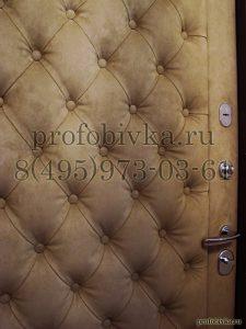 перетяжка дверей алькантарой