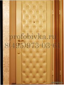 металлическая дверь Ягуар в каретной стяжке