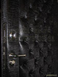 обивка дверей каретной стяжкой