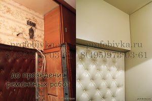 ремонт и отделка дверного проёма