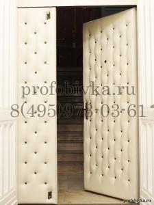 красивая обивка металлической двери