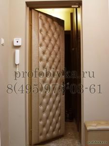 каретная обивка двери