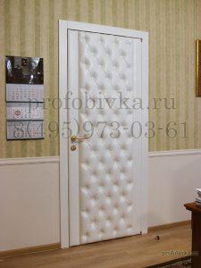 каретная стяжка на межкомнатной двери