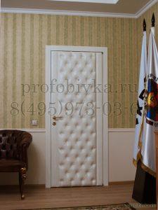 шумоизоляция двери в кабинете руководителя