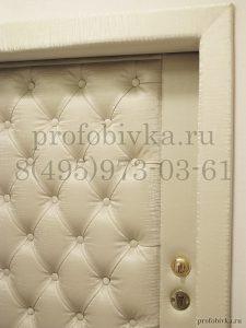 обивка двери и оформление портала