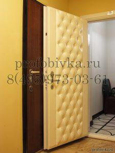 дизайнерская отделка дверей по индивидуальным заказам