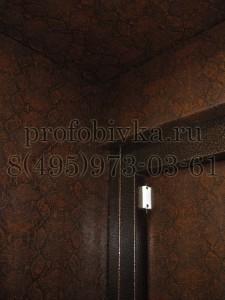 обивка доборов металлической двери