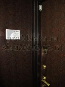 обивка доборов входной двери
