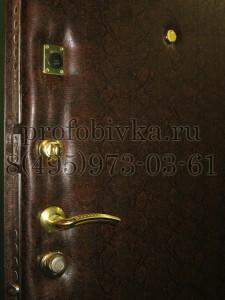 шумоизоляция дверного проёма