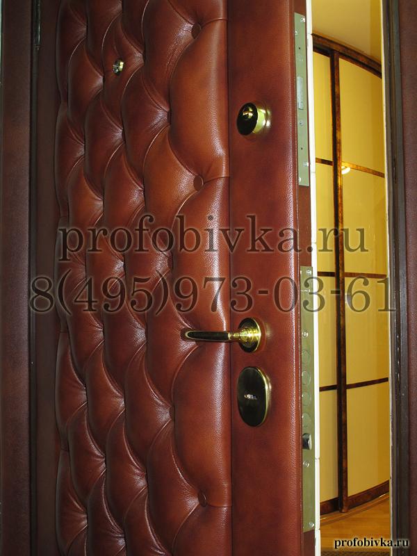Перетяжка двери входной двери
