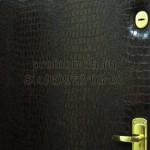 обивка входной двери винилискожей крокодил