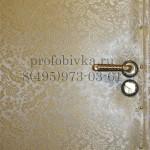 обивка двери с рисунком