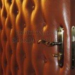 обивка металлической двери дермантином