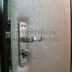 обивка двери винилискожей под бархат