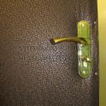 недорогая обивка двери