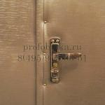 обивка деревянной двери, установка замка