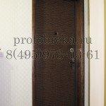 обивка входной металлической двери винилискожей