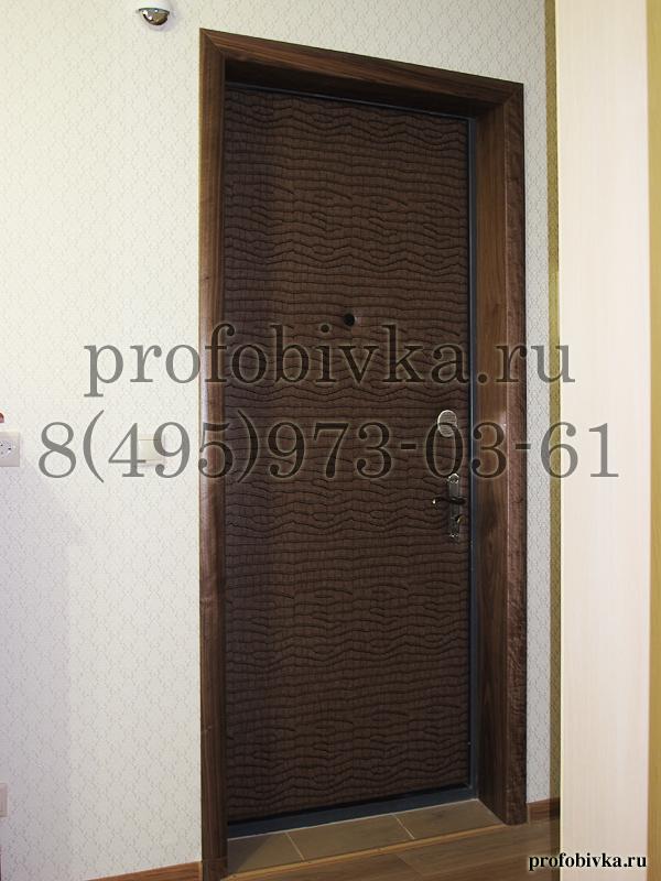 поменять обшивку на металлической двери на современную