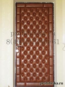 обивка двери каретная стяжка
