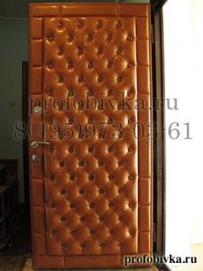 панели каретная стяжка на двери